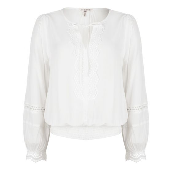 Esqualo blouse white s2021