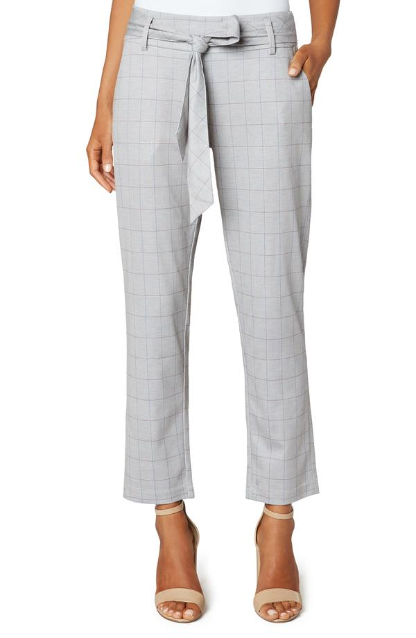 Zip Trouser with Self Belt by Liverpool '21