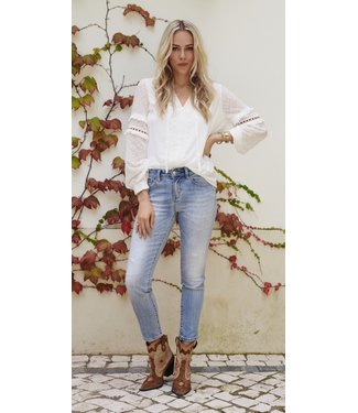 esqualo blouse white s2021 3