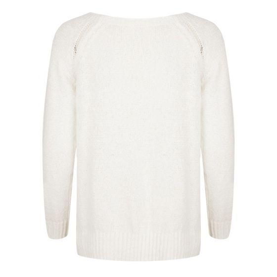 esqualo sweater white s2021 2